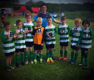 Barrow Celtic Juniors Under 9s on Walney